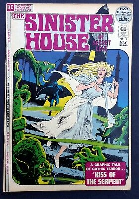 The Sinister House Of Love, No. 4, 1972, DC, comic books, mystery comics, horror