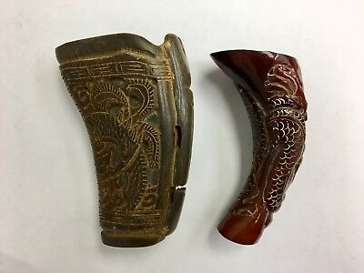 Set Of 2 Chinese Libation Cups