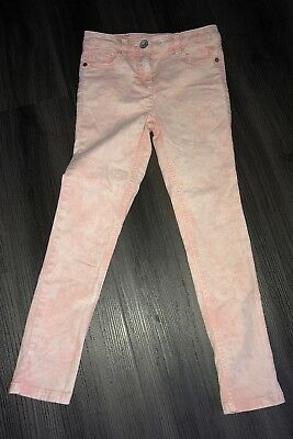 Girls Next Peach/Pink Jeans Age 8 Years