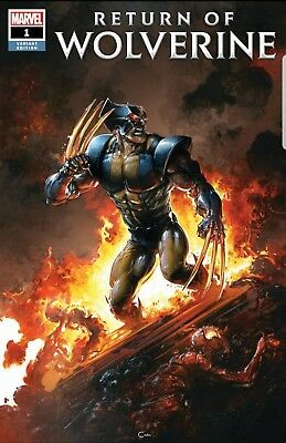 Return of Wolverine #1 Trade Dress Clayton Crain  Nr mt or better PRESELL