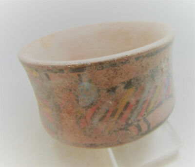 Circa 2200-1800Bce Ancient Indus Valley Harappan Painted Terracotta Vessel