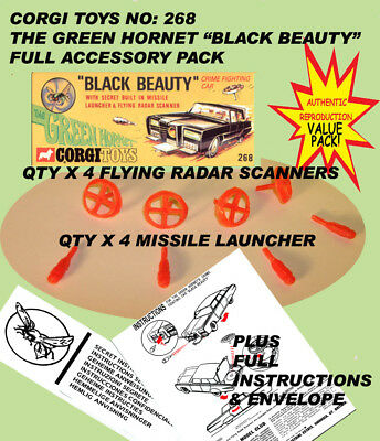 "Corgi Toys 268 The Green Hornet ""Black Beauty"" ENV-PACK"