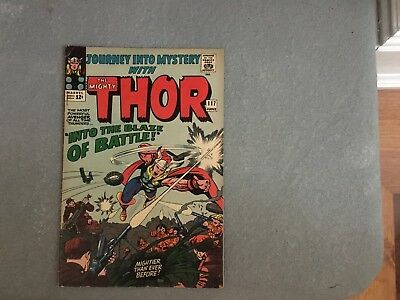 Journey into Mystery/The Mighty Thor #117 (Marvel 1965)