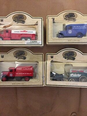 Lot Of 4 Chevron Die Cast Replicas, Made In England