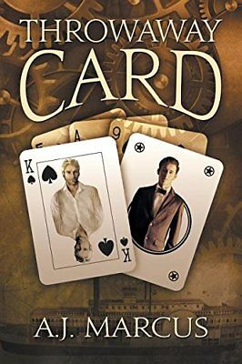 THROWAWAY CARD by A.J. Marcus EROTIC GAY HISTORICAL ROMANCE          *NEW*