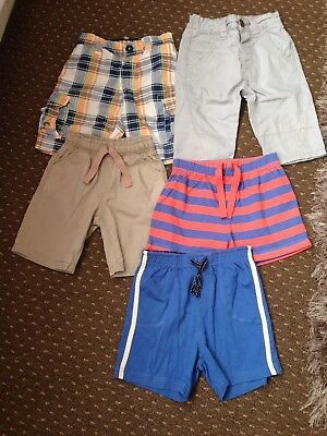 BUNDLE OF BOYS SHORTS - MIXED SIZES (from 18 Months Up To 5 Yrs)