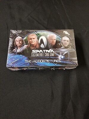 Star Trek CCG The Motion Pictures Booster Box cards Factory Sealed 30 packs