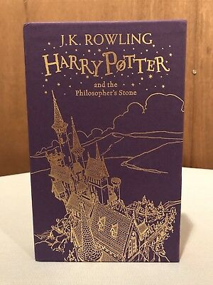 Deluxe 2015 Edition, 1st Print, UK Harry Potter and the Philosopher's Stone