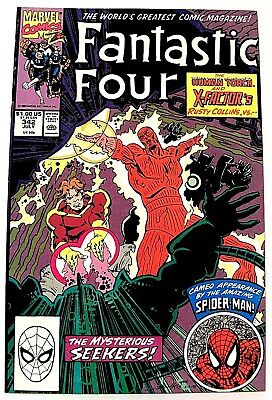 """FANTASTIC FOUR"" Issue # 342 (July, 1990) (Marvel Comics) f. SPIDER-MAN"