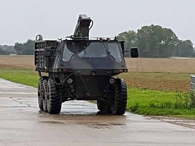Alvis Stalwart ex REME just serviced see listing Runs + drives with Atlas crane