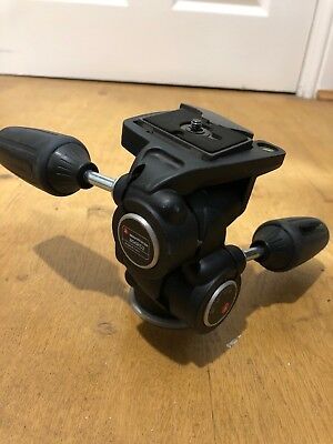 Manfrotto 804RC2 tripod head with 200PL1/4 quick coupling release plate