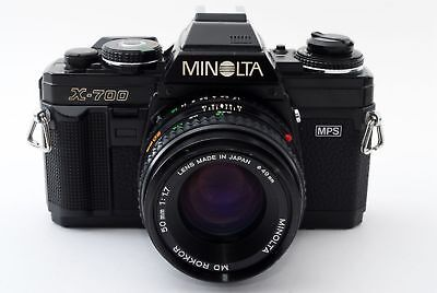 Minolta X-700 Classic 35mm Camera with 50mm F/1.7 Lens - Great Conditions