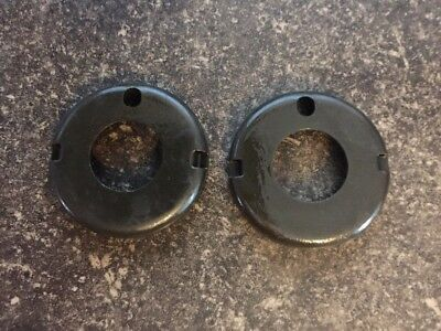 (2) Round Handguard Caps For .750 Barrel USA MADE!! FREE SHIPPING!