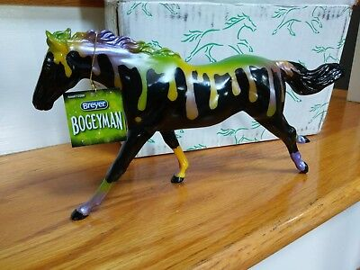 "IN HAND-Breyer web Halloween ""Bogeyman"" Pearly Paint! Free shipping!!"