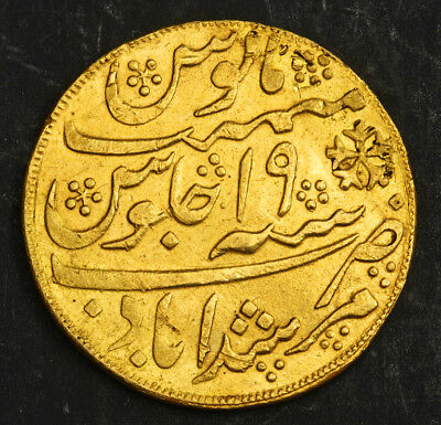 1835, India (British), Bengal Presidency. Gold Mohur Coin. (Tooled VF+) 12.4gm!