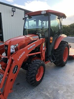 2017 Kubota Tractor L3560 HSTC w/Loader & Cutter (Low Hours) Mint Condition