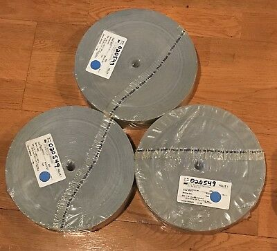 "NEW 1 Case 3M 373L Microfinishing Film 3 Rolls 1.781"",450ft,5/8"", 40MIC 5MIL ASO"