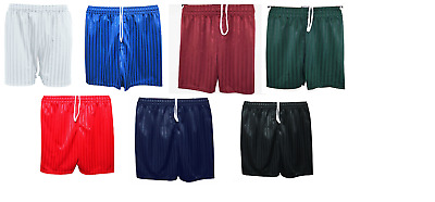 Pe Shorts For Children Boys Girls Summer School Sports Shadow Stripe Kids