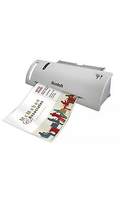 SCOTCH THERMAL LAMINATOR 9 In Input Laminating Machine 3 And 5 Millimeter Pouch