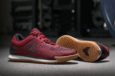31c413d34eb45a Reebok JJ Watt II 2 CrossFit Training Shoes Red Gum Mens 12 Flexweave  CN0985 NEW