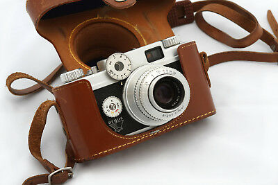 Argus C-Four (C4, C-4) Rangefinder 35mm Camera
