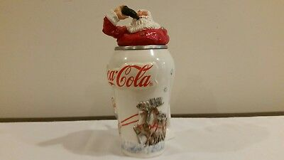 Coca Cola Stien 1993 Collectable Stein Travel Refreshed #7403 of 2000