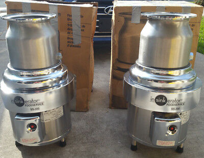 Insinkerator SS300-25 3HP Commercial Garbage Food Waste Disposal Disposers