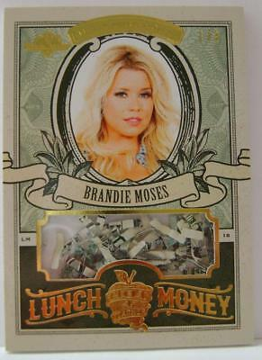 Brandie Moses Lunch Money U.s. Currency #1 /3 Hot For Teacher Bench Warmer Rare