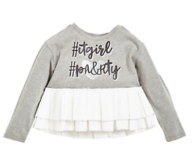 Girls top Designer age 4 5 6 7 8 9 10 years RRP £30 party ( brand sold at NEXT )