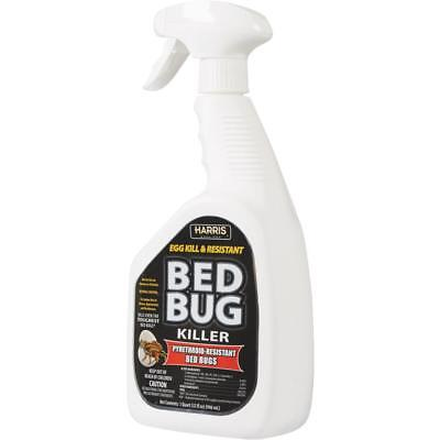 Harris Blkbb 32 Black Label 32oz Bed Bug Killer Spray 22 28