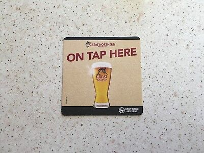 "Collectable drink coaster- ""GREAT NORTHERN BREWING CO"" - PERFECT CONDITION"