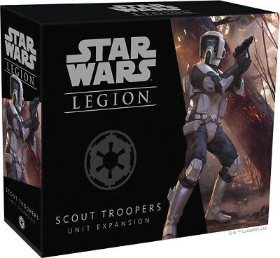 Star Wars Legion - Scout Troopers Unit Expansion Factory Sealed Brand New FFG