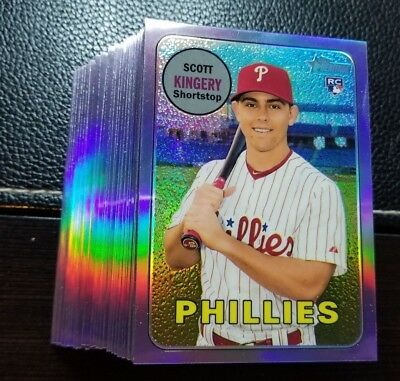 2018 Topps Heritage High Number PURPLE CHROME You Pick RC *BUY 2 GET 1 FREE*