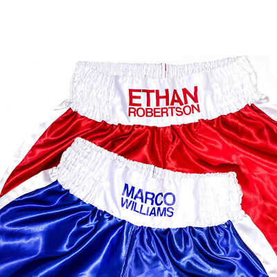 Personalised Boxing Shorts - Kids & Adults - Custom Printed