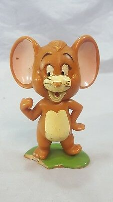 VINTAGE 1973 MARX toy TOM AND JERRY HARD PLASTIC FIGURE Jerry mouse
