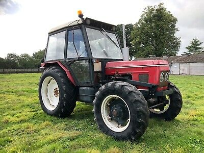 Zetor 7045 4wd Tractor With Loader Spares Or Repair