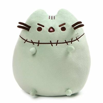 Gund Pusheen NEW * Zombie * 9.5 Inch Halloween Plush Authentic Cat Kitty Kitten