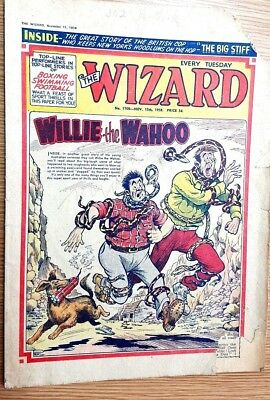 The Wizard Comic No 1709 15th November 1958