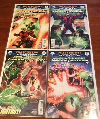 Hal Jordan And The Green Lantern Corps #26-29 Fall Of The Gods (First Prints)
