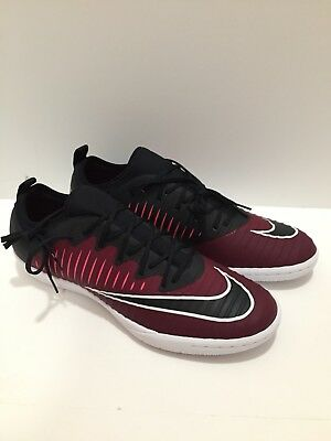quality design 10b0a 3bc0a Nike MercurialX Finale II IC Indoor Soccer Shoes Red Black 831974 606 size  10.5