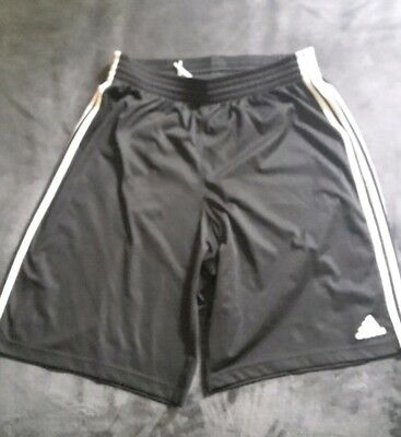 Adidas shorts XL Basketball Mesh Black Sport Football Nike