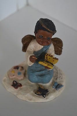 All God's Children Figurine Black Americana Holcombe Charity #48