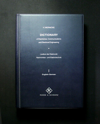 Dictionary of Electronics, Communications and Electrical Engineering (1977)