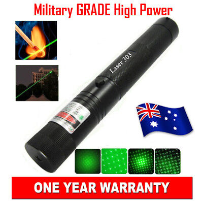 Military Grade High Power Green Laser Pointer Pen