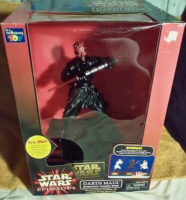 Darth Maul Interactive Bank in original box as is MPN#064442 137090
