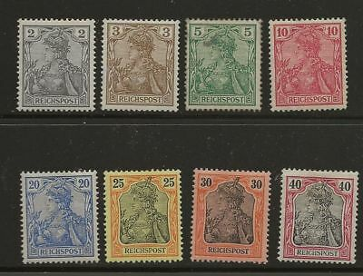 Germany Sc# 52-9 Mh Stamps