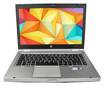 HP Elitebook 8460p Core i5 2.5GHz 4GB 250GB DVD Win7 1600x900 Webcam BT+Docking