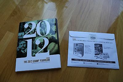 2012 USPS Stamps Collection Year Book Year Set Sealed