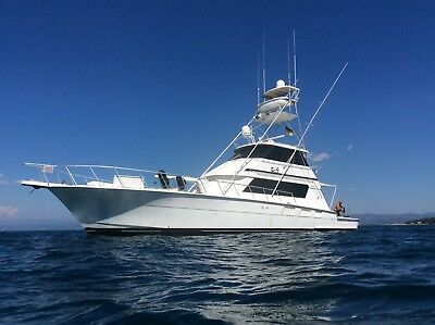 Motorboot #Hatteras 65 Convertible# ( keine Princess)