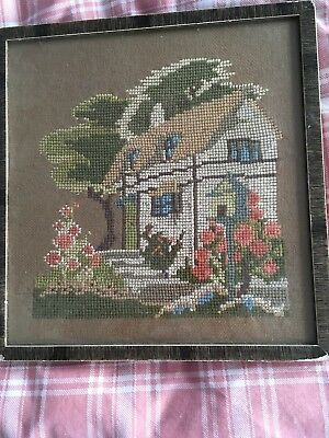 Vintage Tapestry Dated 1933